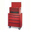 Task Force 20.187-in x 14.625-in 7-Drawer Friction Steel Tool Chest (Red)