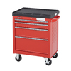 Kobalt 4-Drawer 28-in Steel Tool Cabinet (Red)