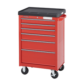 Kobalt 6-Drawer 28-1/8-in Steel Tool Cabinet (Red)