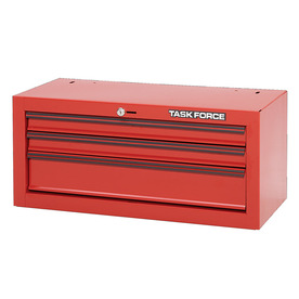 Task Force 20.187-in x 14.625-in 3-Drawer Friction Steel Tool Chest (Red)