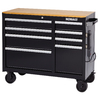 Kobalt 34.5-in x 41-in 8-Drawer Ball-Bearing Steel Tool Cabinet (Black)