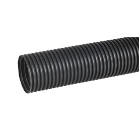 Hancor 6-in x 10-ft Corrugated Solid Pipe