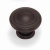 Laurey 1-3/8-in Oil-Rubbed Bronze Nantucket Round Cabinet Knob