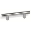 Laurey 4-in Center-to-Center Stainless Steel Melrose Bar Cabinet Pull
