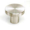 Laurey 1-1/4-in Stainless Steel Melrose Round Cabinet Knob