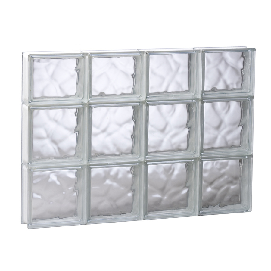 Glass blocks for crafts lowe 39 s for Lowes windows