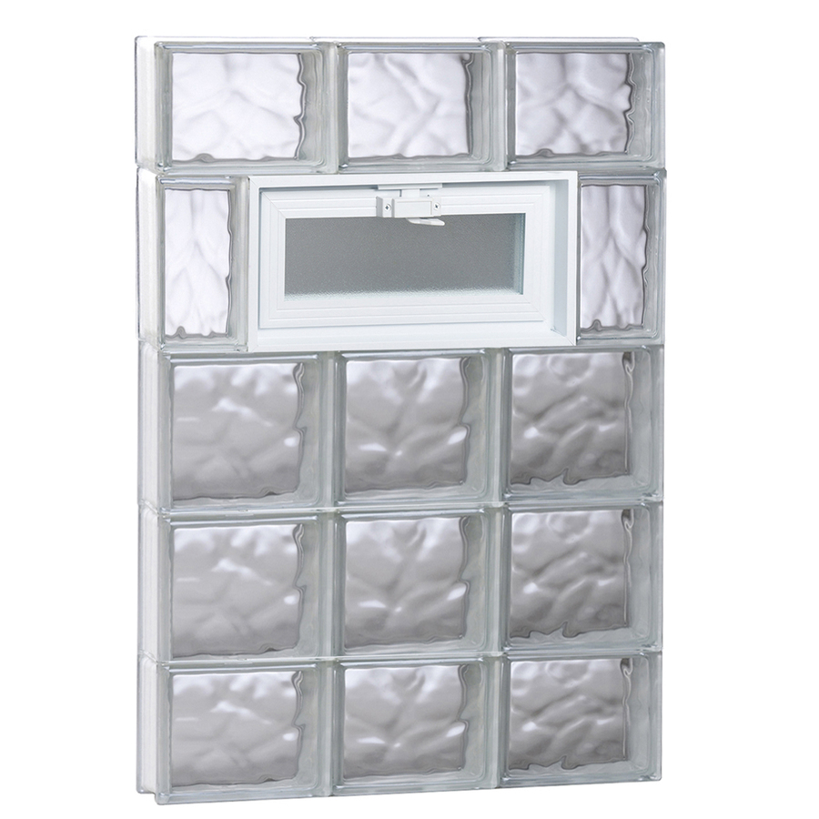 Glass replacement glass block replacement window for Glass block window frame