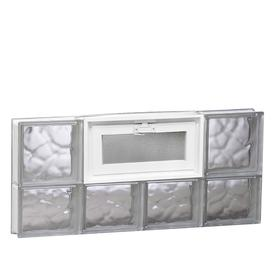 REDI2SET 31-in x 13-1/2-in x 3-1/8-in Glass Block