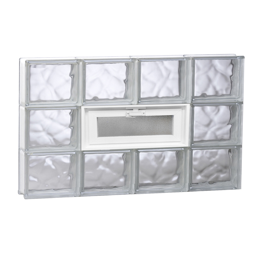 Window glass glass block windows lowes for Lowes windows