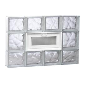 REDI2SET 31-in x 19-1/4-in x 3-1/8-in Glass Block