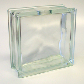 redi2craft glass block common 8 in x 8 in x 3 in actual