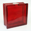 REDI2CRAFT 7-1/2-in x 7-1/2-in x 3.1-in Red Glass Block