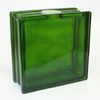 REDI2CRAFT 7-1/2-in x 7-1/2-in x 3.1-in Green Glass Block