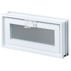 REDI2SET 15-1/2-in x 7-3/4-in x 3-1/8-in White Glass Block
