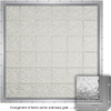 CrystaLok Ice Pattern Vinyl New Construction Glass Block Window (Rough Opening: 56.5-in x 48.75-in; Actual: 54.25-in x 46.75-in)
