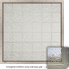 CrystaLok Ice Pattern Vinyl New Construction Glass Block Window (Rough Opening: 56.5-in x 56.5-in; Actual: 54.25-in x 54.25-in)