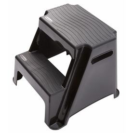 Shop Rubbermaid 2 Step Molded Plastic Step Stool At Lowes Com