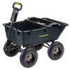 Duraworx 5.5 Cu. Ft. Plastic Yard Cart