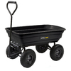 Gorilla Carts 3 cu ft Poly Yard Cart
