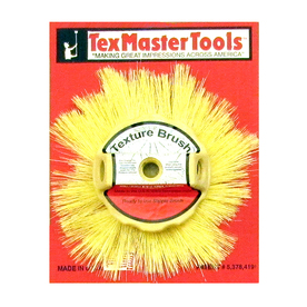 Texmaster Tools   In Natural Stippling Faux Finish Paint Brush