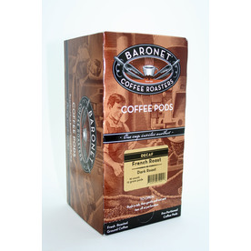 Baronet 18-Pack Decaffeinated French Roast Single-Serve Coffee