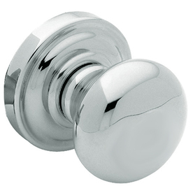 Shop BALDWIN Classic Polished Chrome Residential Dummy Door Knob ...