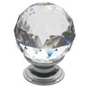 BALDWIN Estate Polished Chrome Round Cabinet Knob