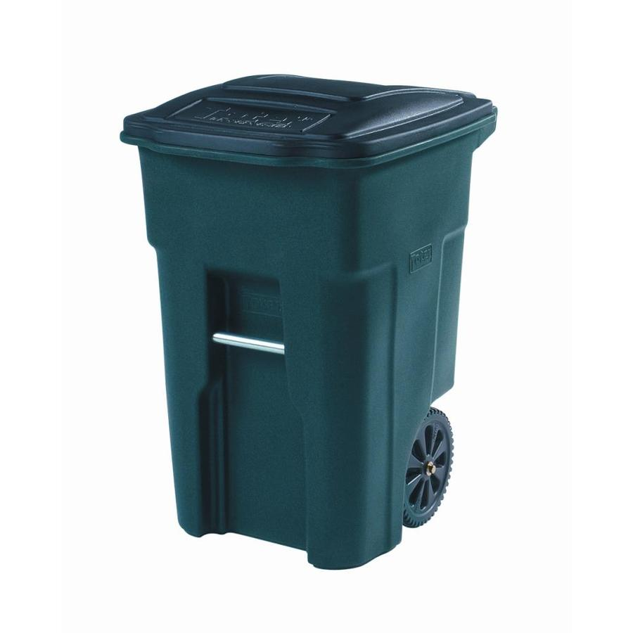 Shop Toter 48 Gallon Greenstone Indoor Outdoor Garbage Can At