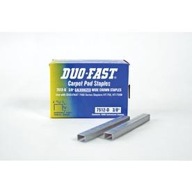 Duo-Fast Manual Carpet Pad Staples
