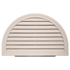 "Durabuilt 22"" Half Round Gable Vent Heather"