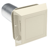 Durabuilt 8-in L Cream/Pebble Plastic Soffit Vent