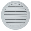 Durabuilt 22-in x 22-in Cape Blue/Pebble Round Plastic Gable Vent