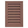 "Durabuilt 20"" x 14"" Rectangular Gable Vent Sedona Red"