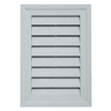 "Durabuilt 20"" x 14"" Rectangular Gable Vent Cape Blue"