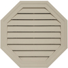  0CTGV CLAY &#40;PC&#41; 22&#34; OCTAGONGABLE VENT &#40;1 PC/CTN&#41;