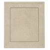 Durabuilt 7.875-in x 8.9375-in Clay/Pebble Vinyl Universal Mounting Block
