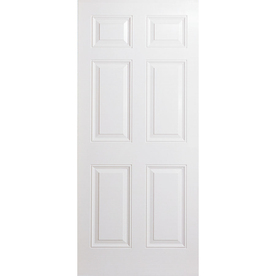 ReliaBilt 36-in x 80-in 6-Panel Inswing Steel Entry Door