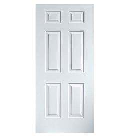 Shop Reliabilt 6 Panel Prehung Outswing Steel Entry Door At