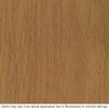 Therma-Tru Benchmark Doors Willowbrook 2-Panel Insulating Core Oval Lite Left-Hand Inswing Medium Oak Fiberglass Stained Prehung Entry Door (Common: 36-in x 80-in; Actual: 37.5-in x 81.5-in)
