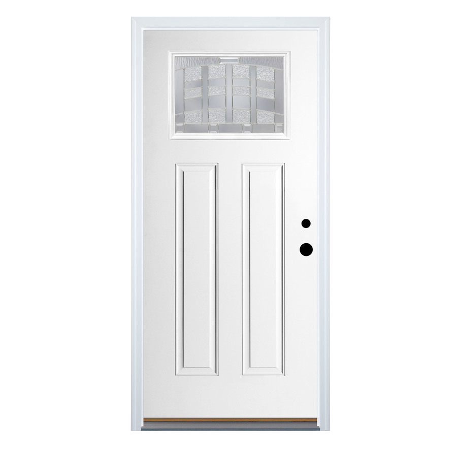 Additional images for Lowes fiberglass exterior doors