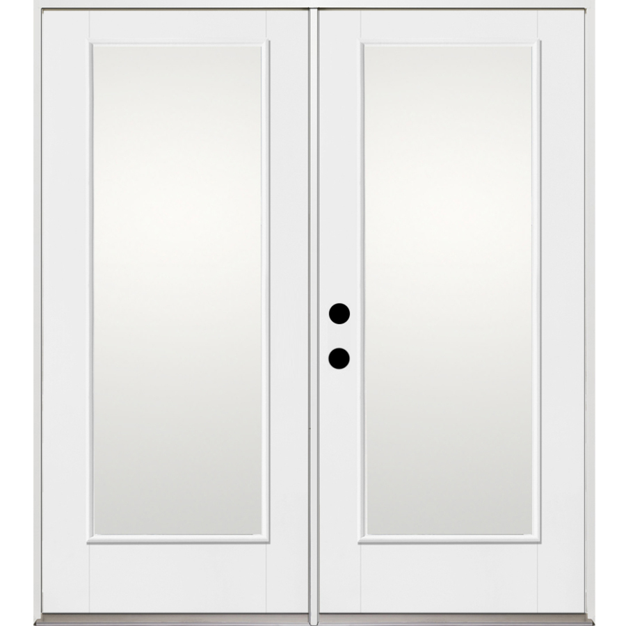 Shop benchmark by therma tru 1 lite glass for Therma tru fiberglass entry doors prices