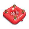 Swimline Sunsoft Drink Caddy Red Inflatable Raft