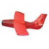 Swimline Red Inflatable Airplane