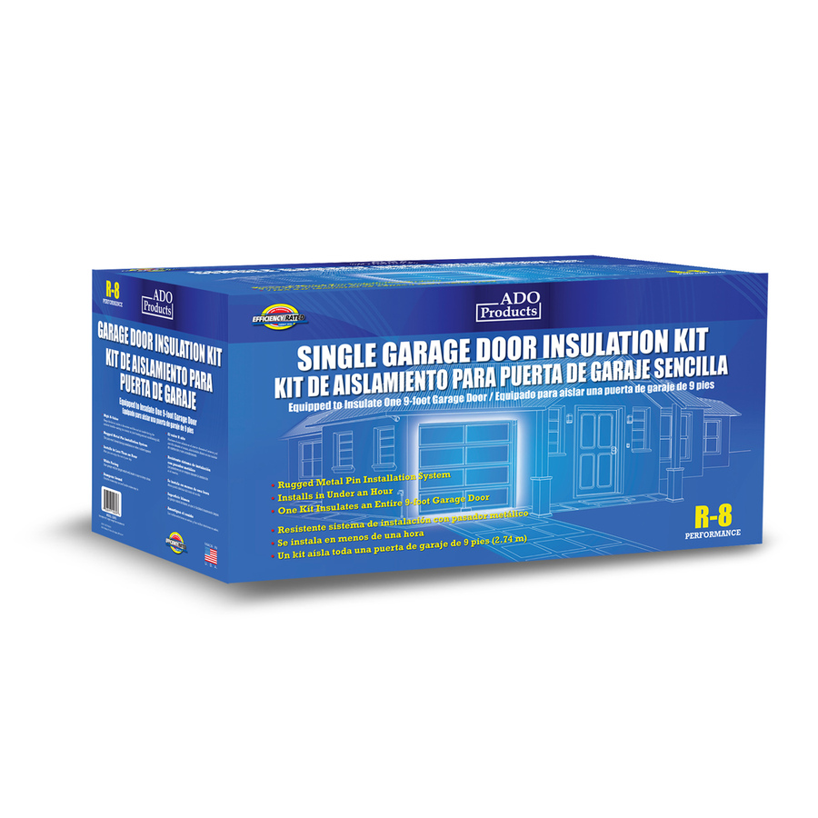 Shop ado products garage door insulation single kit at for 16x8 garage door lowes