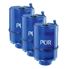 PUR 3-Pack 2.40-in x 2.40-in x 4.06-in Faucet Mount Replacement Filter