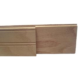 3.25-in x 8-ft Raw Oak Wood Wall Plank