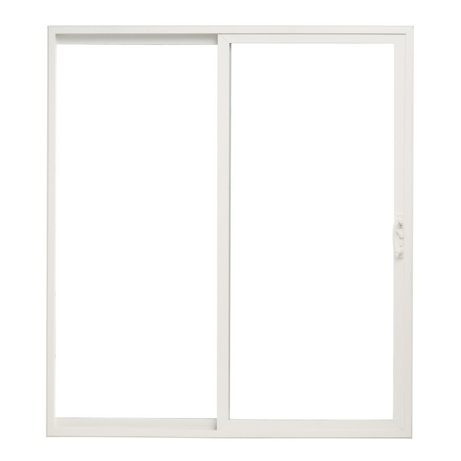 Pella 6 39 Sliding Patio Door Vinyl 10 Series Clear Low E White Sliding