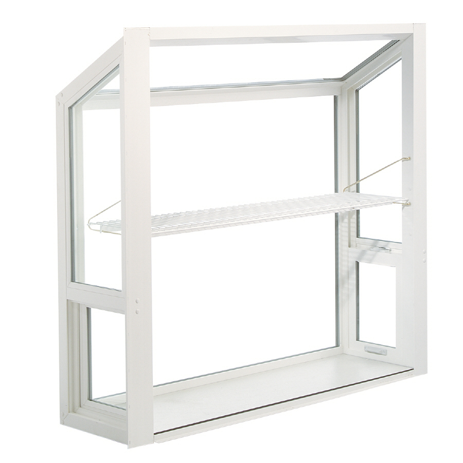 Shop thermastar by pella 36 in x 36 in garden window at for Garden window replacement