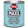 Krylon Covermaxx Blue Ocean Breeze Gloss Latex Enamel Interior/Exterior Paint and Primer In One Paint (Actual Net Contents: 32 Fluid Oz.)