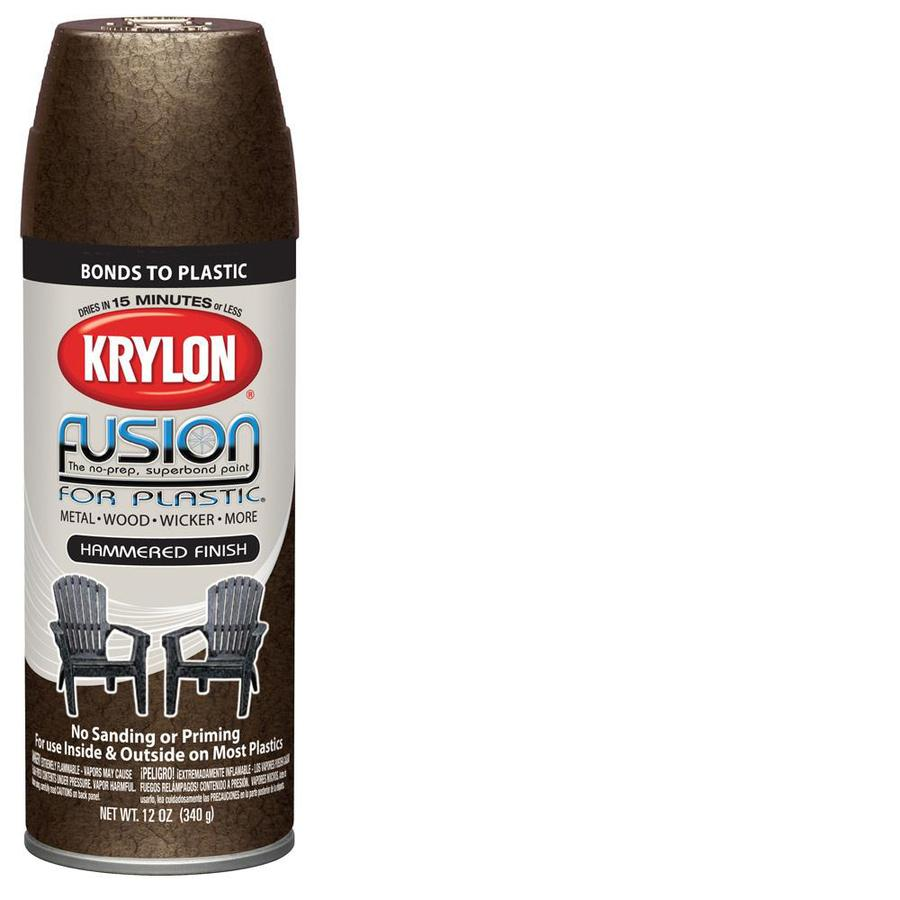 Shop Krylon 12 Oz Chocolate Brown Flat Spray Paint At